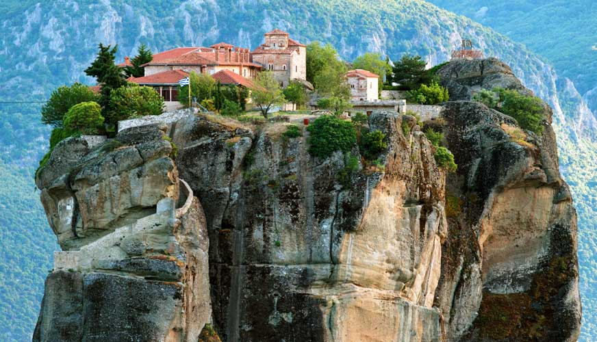 Two day Delphi & Meteora Tour from Athens