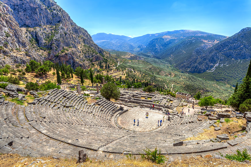 Delphi One Day Trip from Athens
