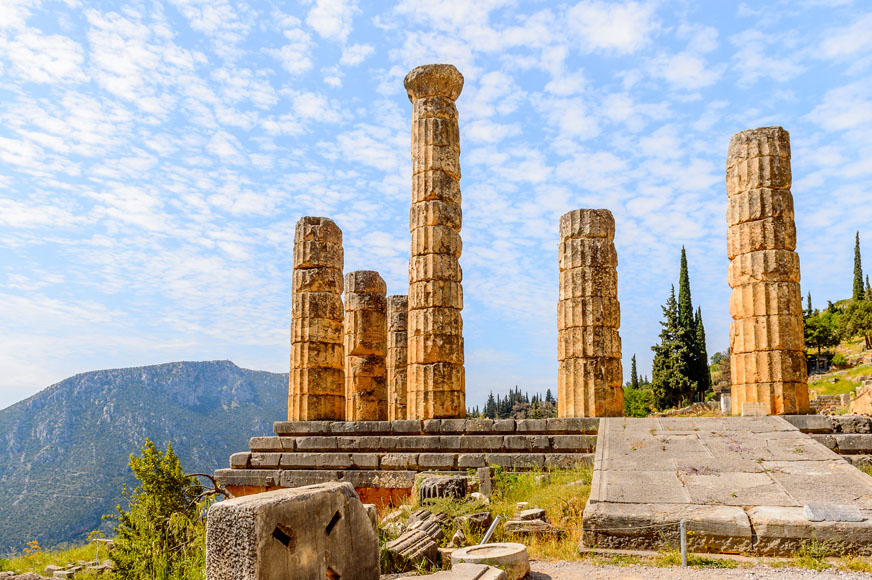 Two Day Delphi tour from Athens