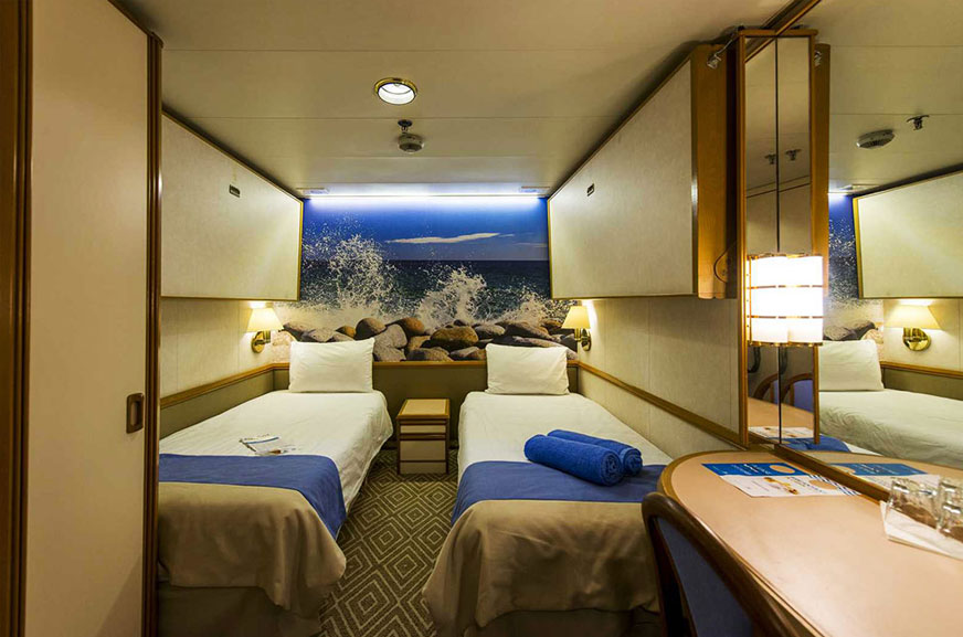 IE - Interior Stateroom (VENUS / APOLLO)