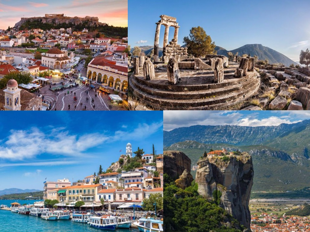 Athens - Classical Greece - Island Cruise 8 Days Package