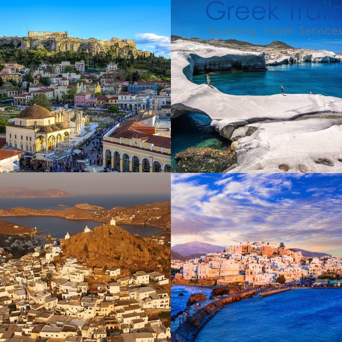 Athens – Milos – Ios – Naxos