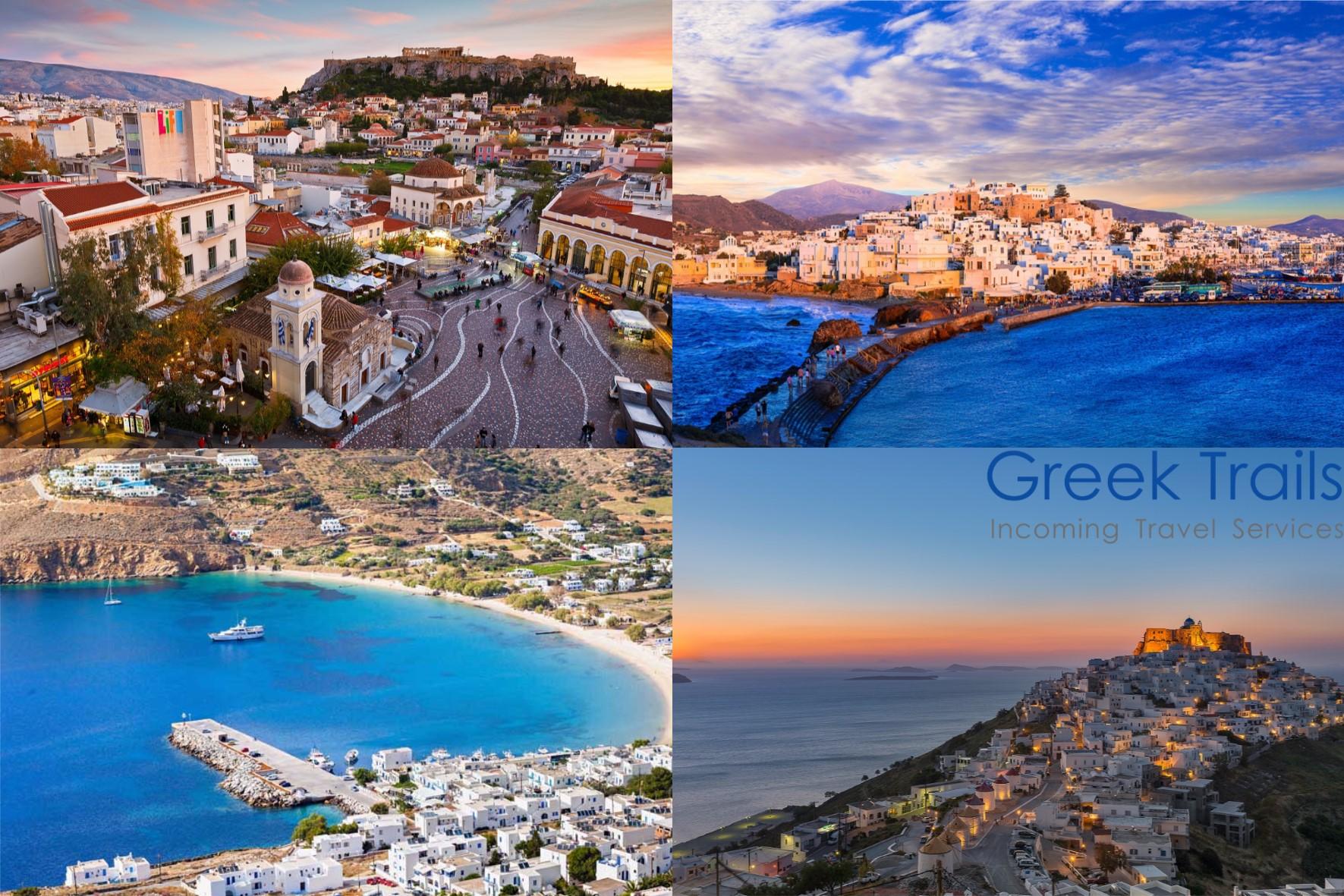 Athens – Naxos – Amorgos – Astypalaia