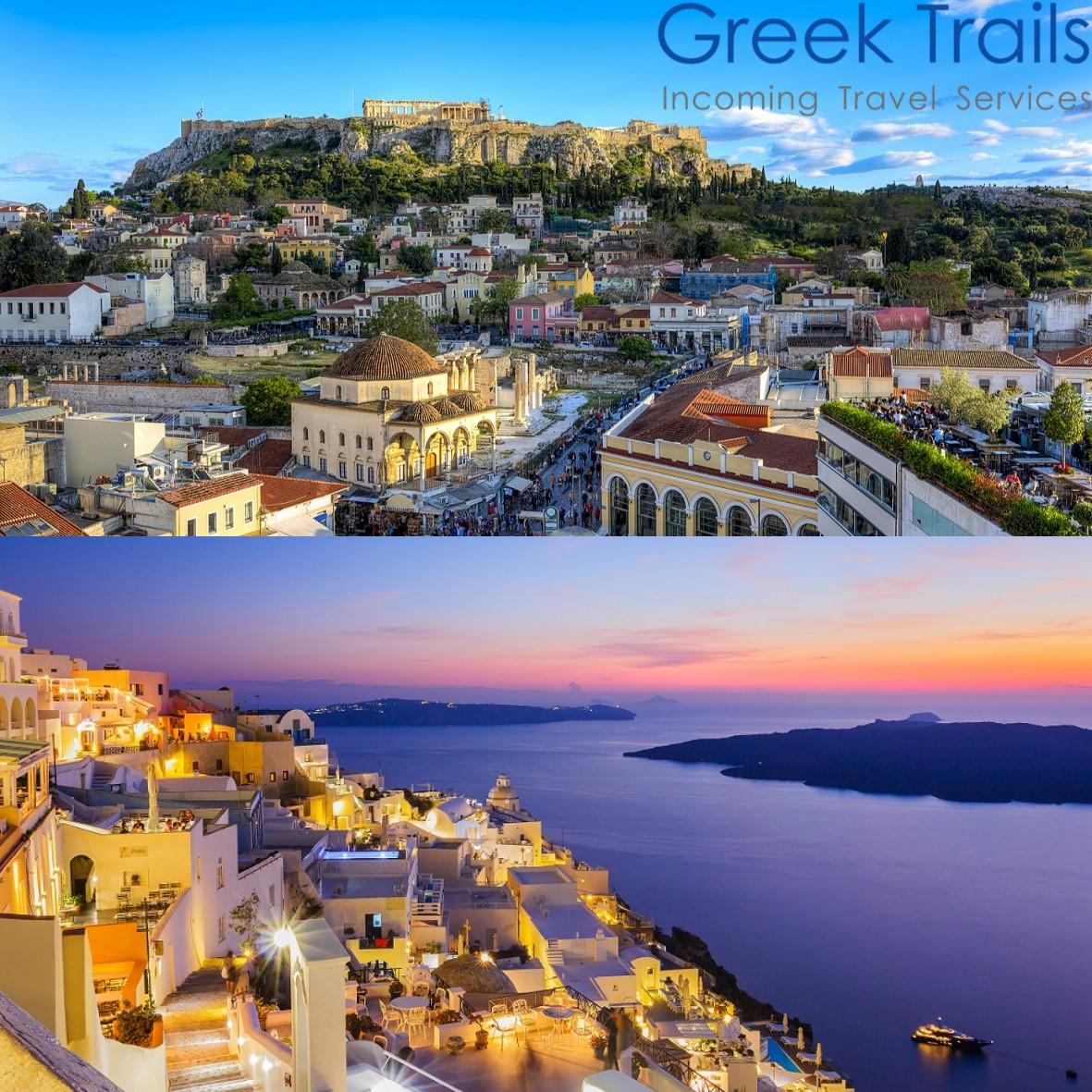 Athens – Santorini