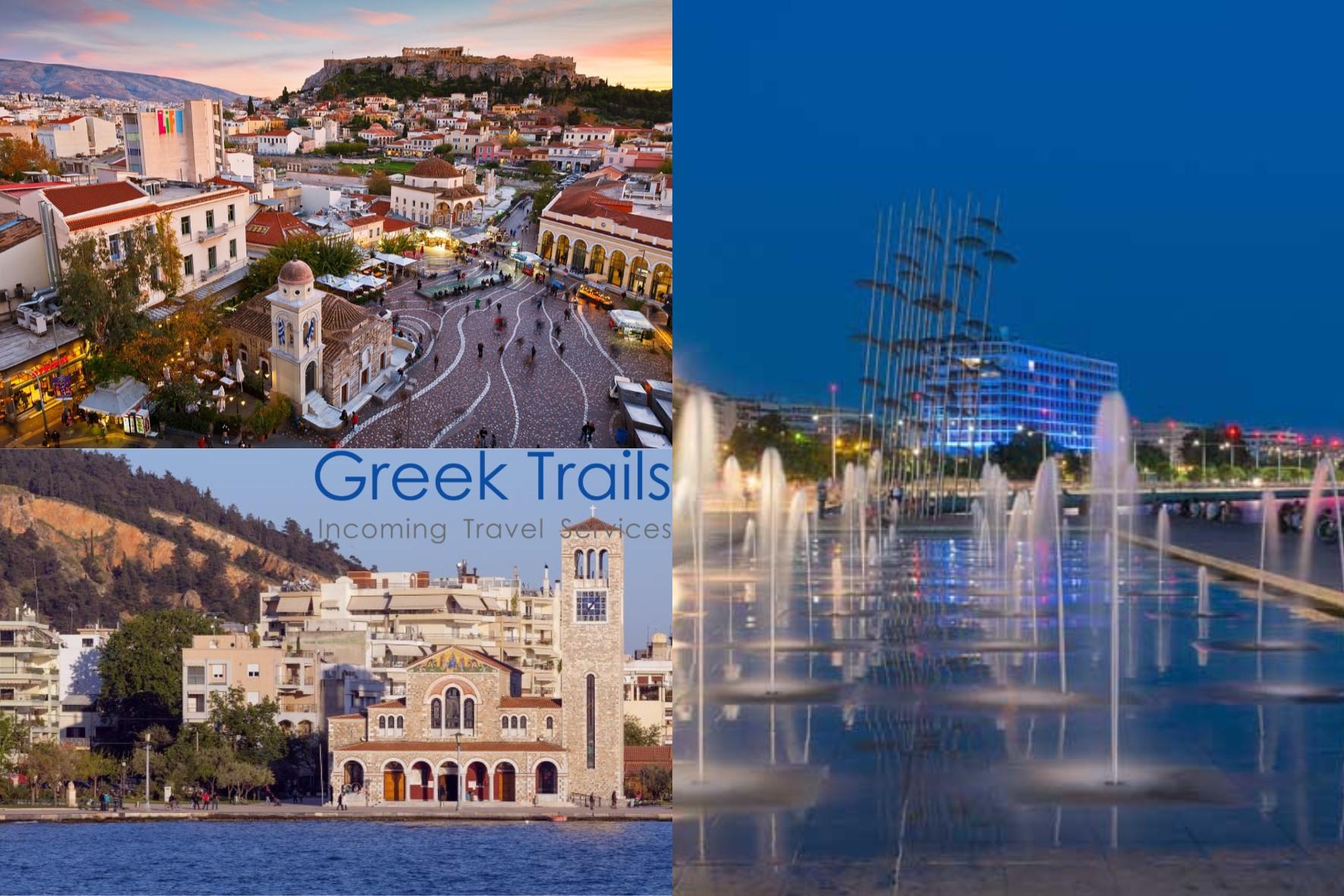Athens – Volos / Pelion – Thessaloniki