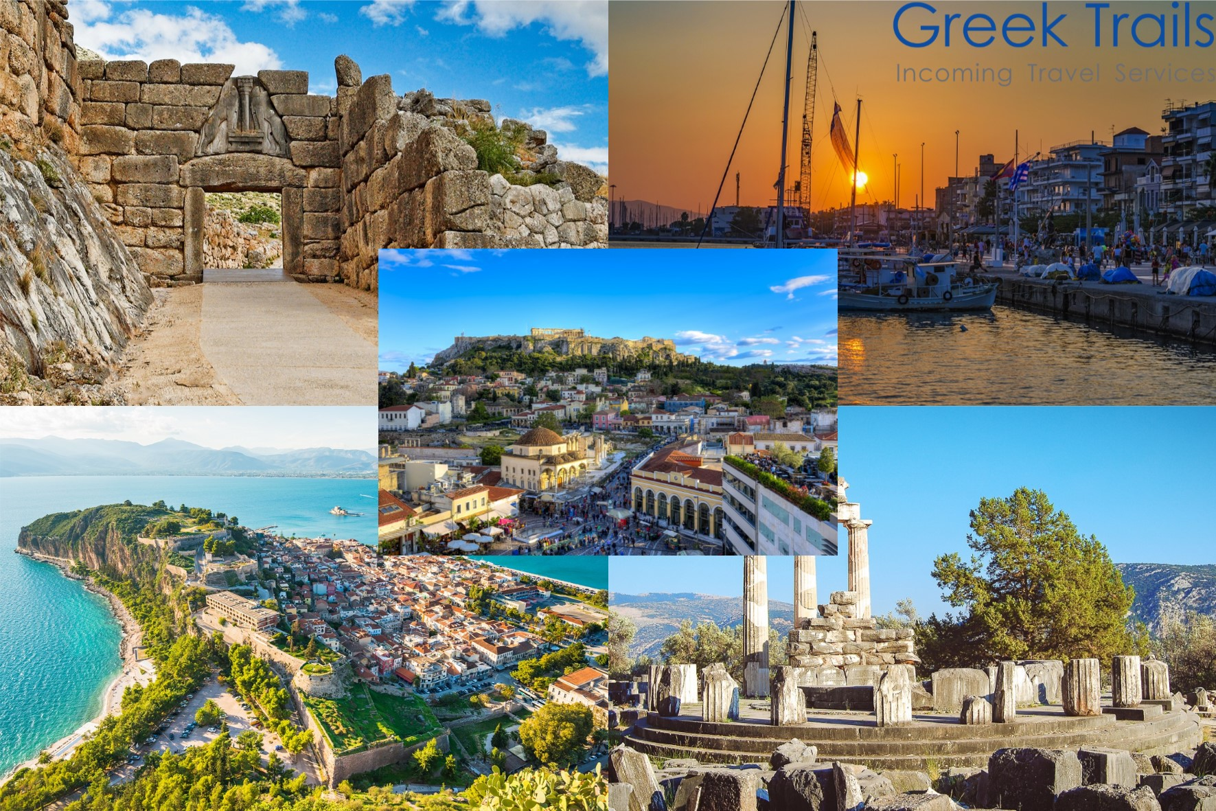 Fly & Drive Athens – Peloponnese
