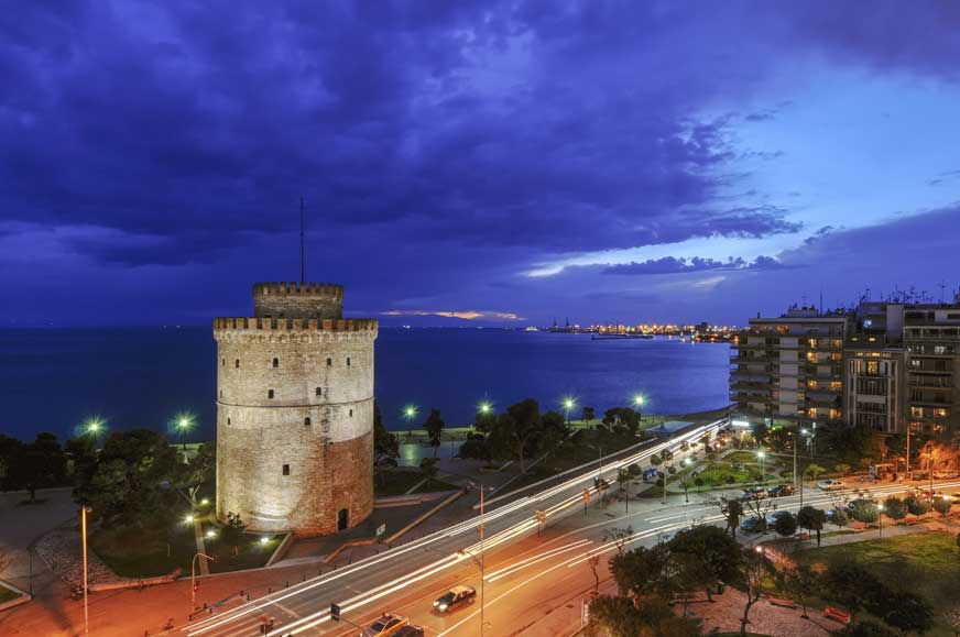 Thessaloniki Sightseeing half-day Tour