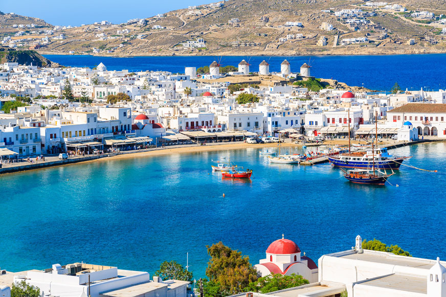 Mykonos Island escape: 2-day tour from Athens