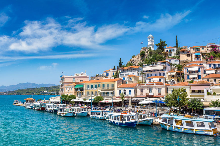 Poros - Hydra - Aegina One Day Cruise from Athens