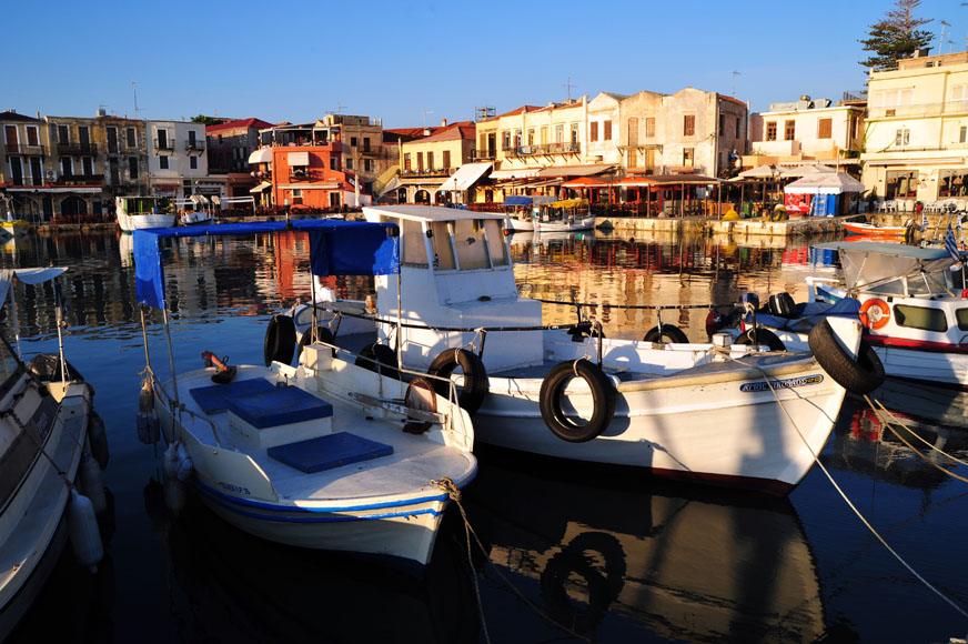 City Tour of Heraklion and Knossos Palace Tour from Rethymno
