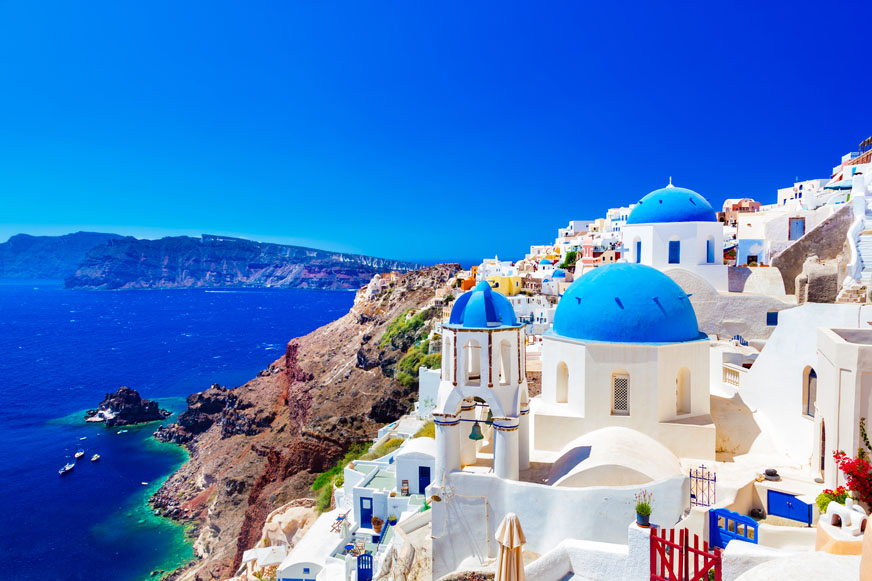 Caldera & Oia sunset boat tour from Santorini