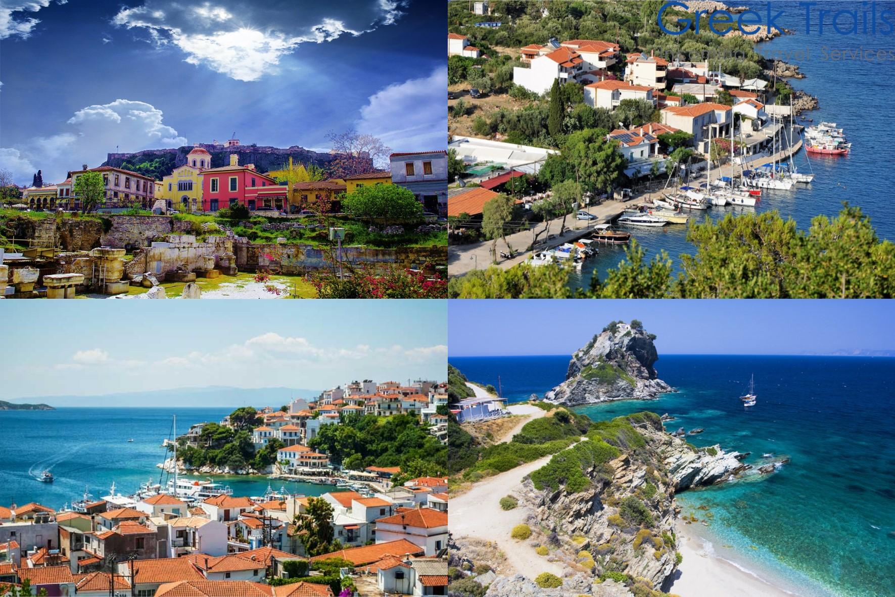 Athens – Skiathos – Skopelos – Alonissos