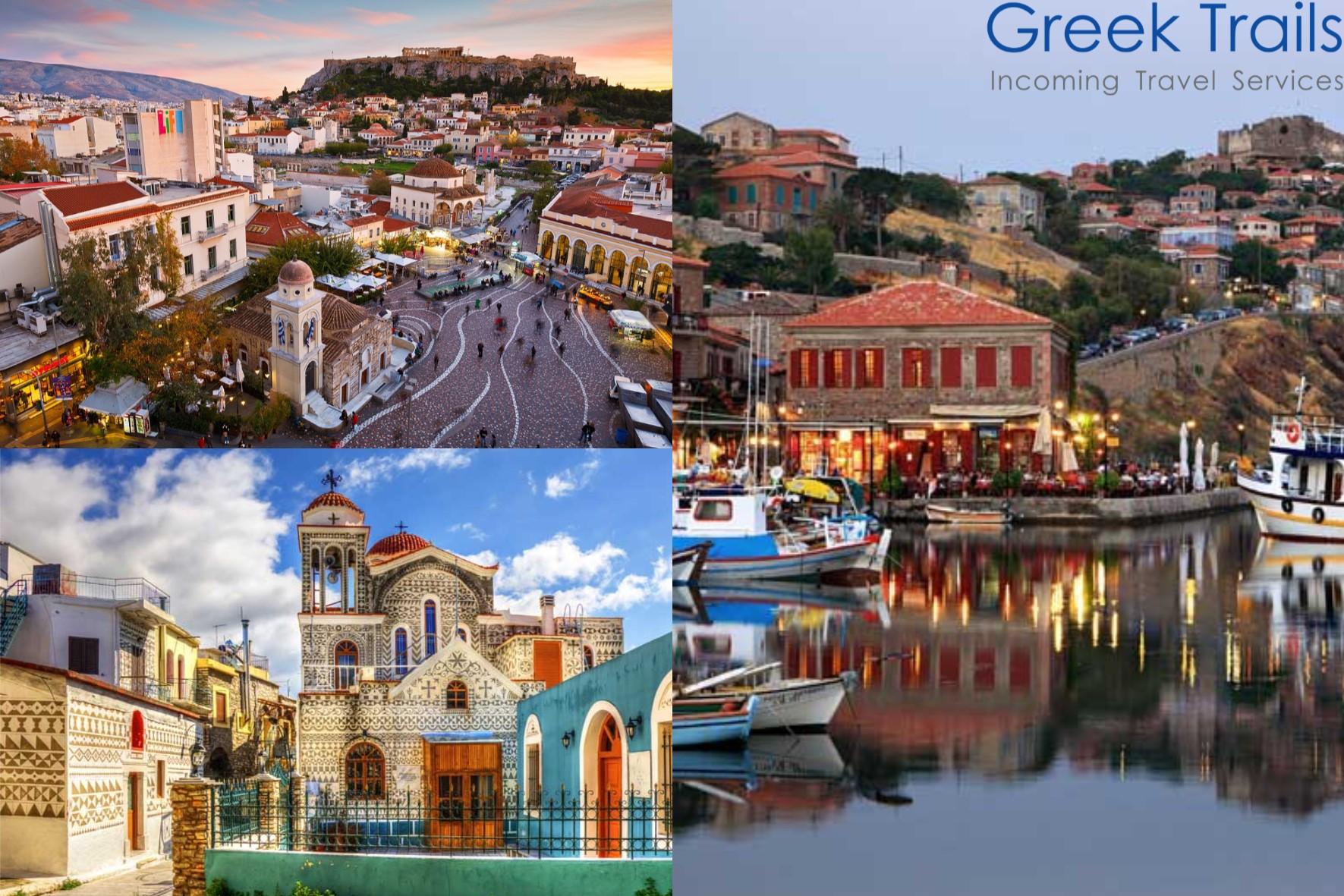 Athens – Chios – Lesvos