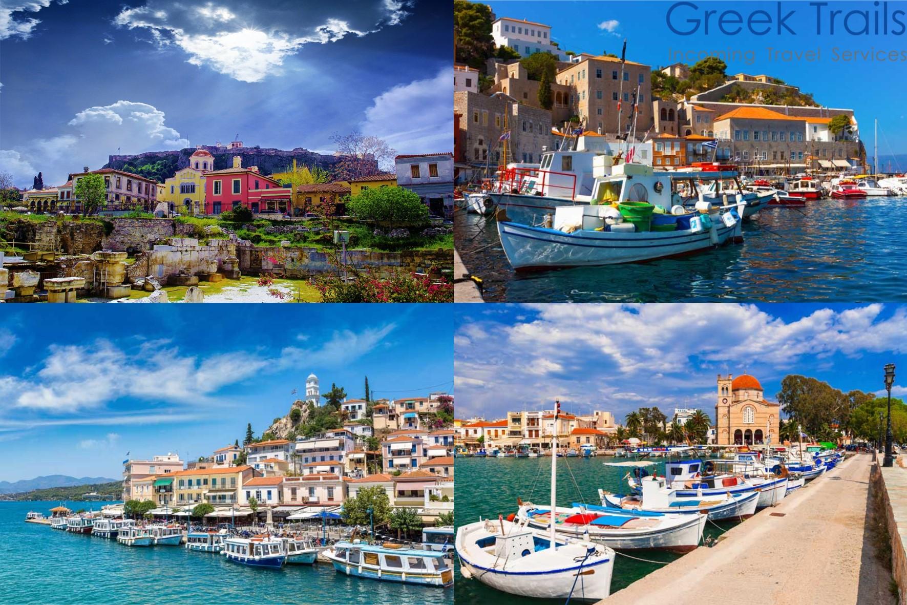 Athens – Hydra – Poros – Aegina