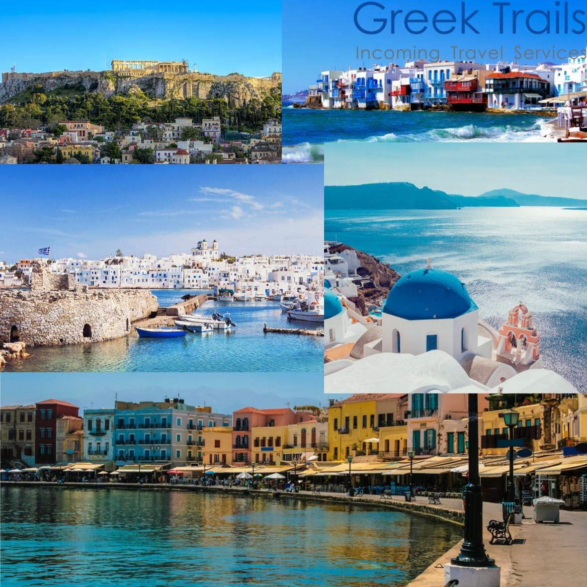 Athens – Mykonos – Paros – Santorini – Crete