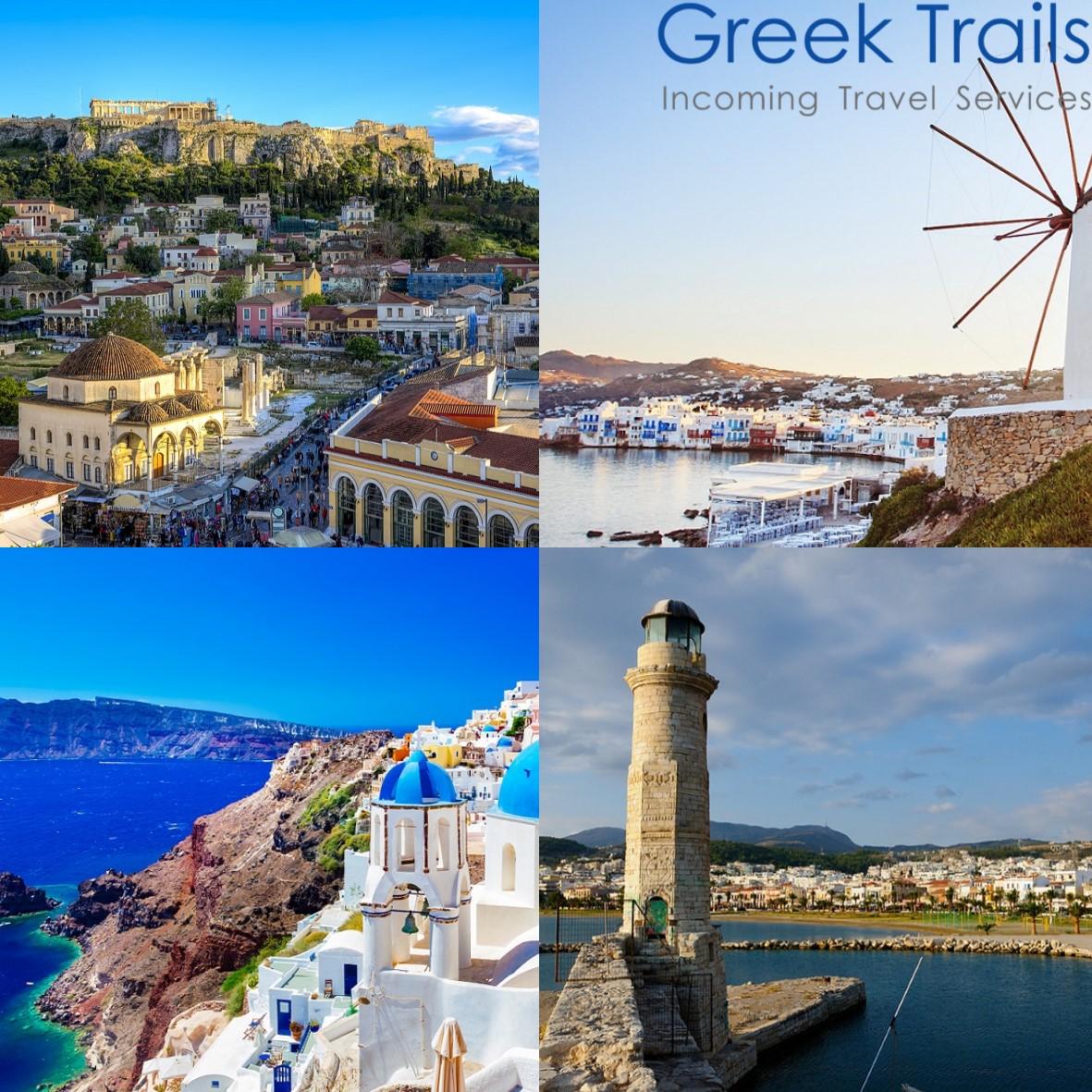 Athens – Mykonos – Santorini – Crete