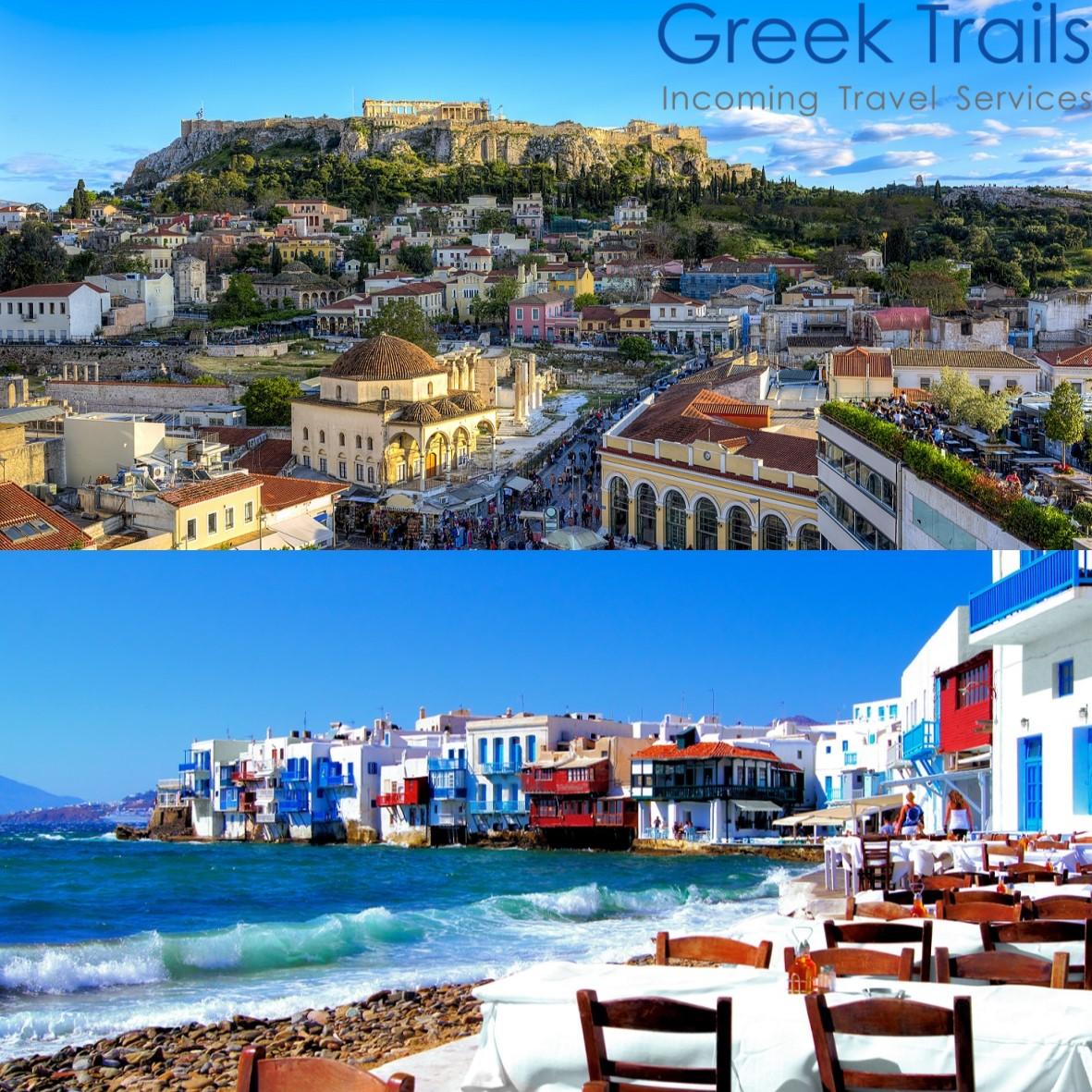 Athens – Mykonos