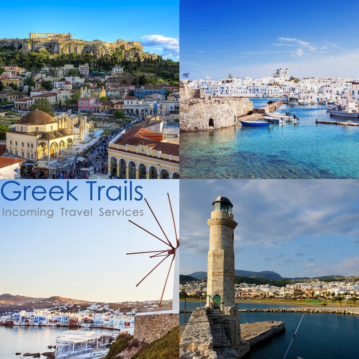 Athens – Paros – Mykonos – Crete