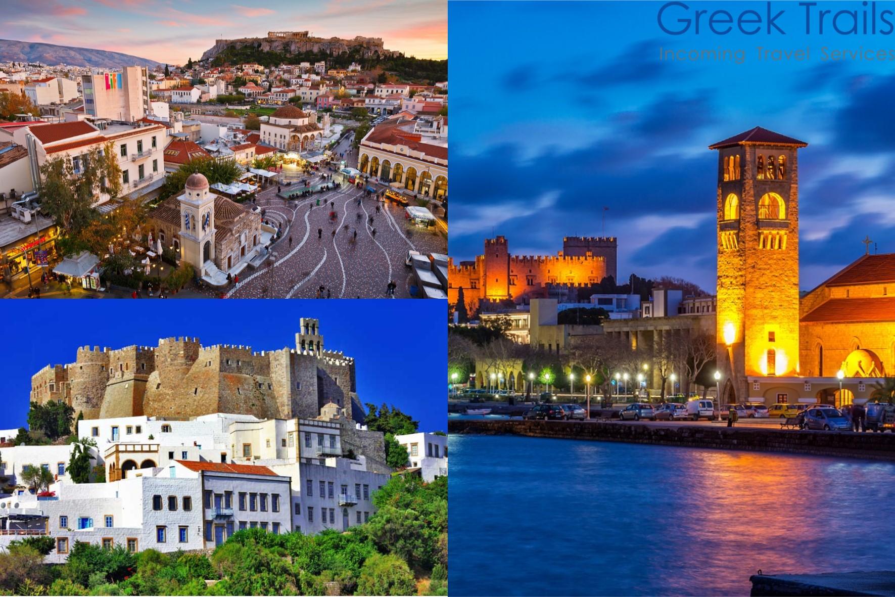 Athens – Patmos – Rhodes