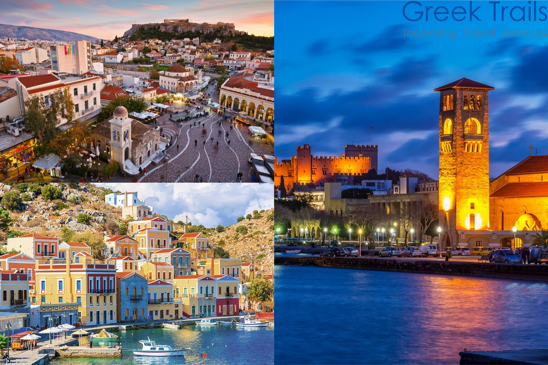 Athens – Rhodes – Symi