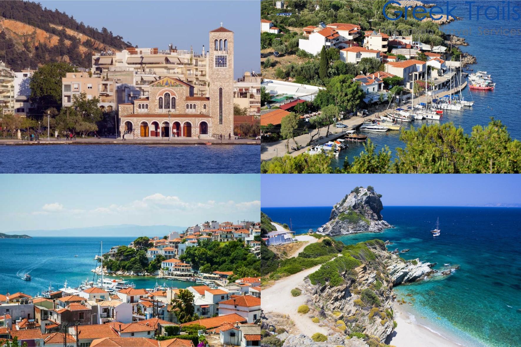 Volos – Skiathos – Skopelos – Alonissos